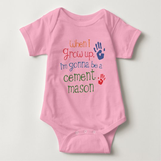 Cement Mason (Future) Infant Baby T-Shirt