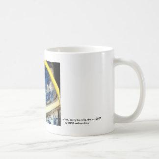 Cement Mixer, Cerny la Ville, cement mixer, cer... Basic White Mug