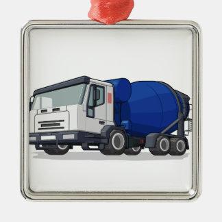 Cement Mixer Truck Christmas Ornament