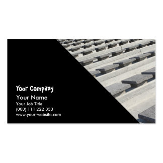 Cement seats pack of standard business cards