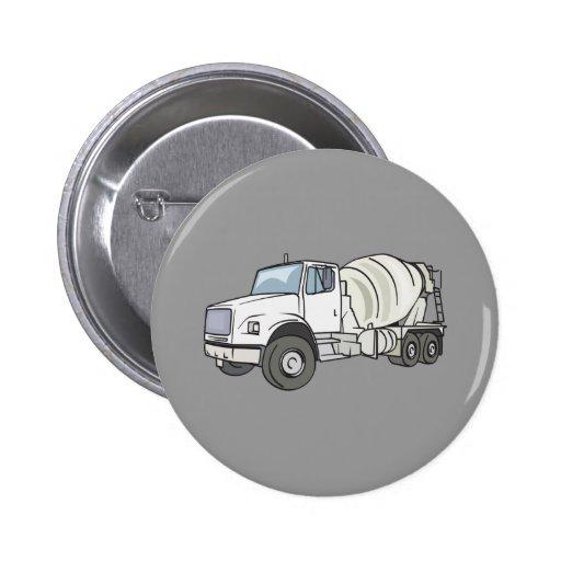 Cement Truck Button