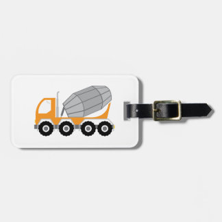 Cement Truck Bag Tag