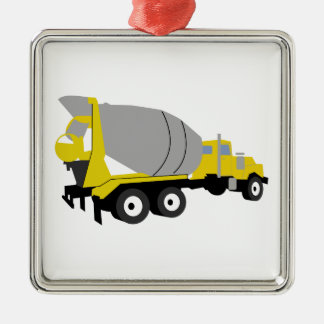 Cement Truck Christmas Ornament