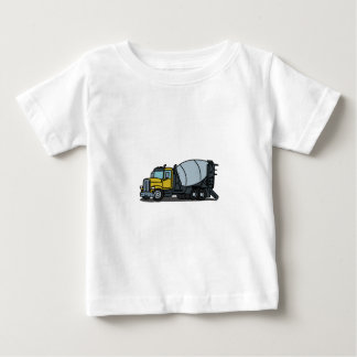 Cement Truck Concrete Mixer Baby T-Shirt
