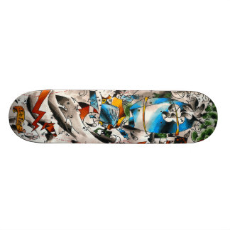 cementboard_oldschool 21.3 cm mini skateboard deck