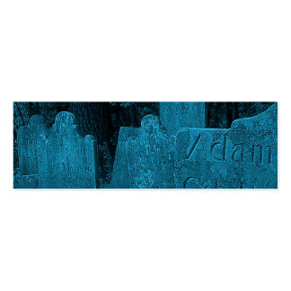Cemetery Business Card