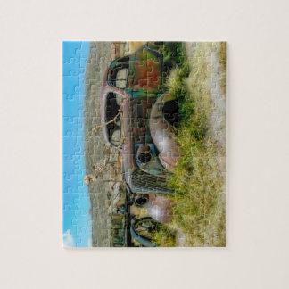 Cemetery car jigsaw puzzle