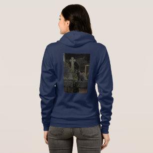 cemetery cat hoodie