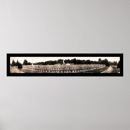 Cemetery In Gettysburg Photo 1913 Poster