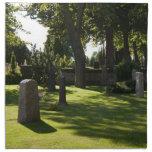 Cemetery napkin