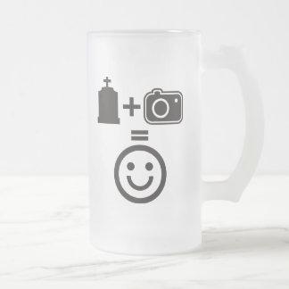 Cemetery Photography Smiley Mug