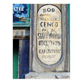 Cenco Import Ltd. Postcard