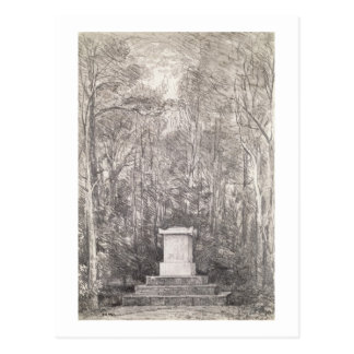 Cenotaph to Sir Joshua Reynolds at Coleorton Hall, Postcard