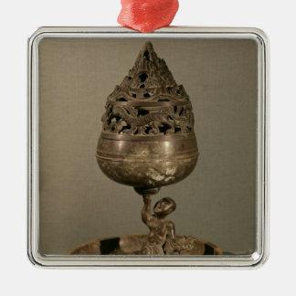 Censer in the shape of 'po-shan-lu' christmas ornament