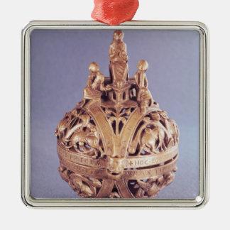 Censer surmounted by an angel christmas ornament