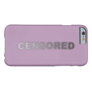 CENSORED (light to dark grey) Barely There iPhone 6 Case