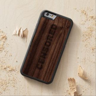 CENSORED WALNUT iPhone 6 BUMPER CASE