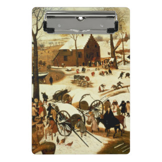 Census at Bethlehem, c.1566 Mini Clipboard
