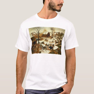 Census at Bethlehem, c.1566 T-Shirt