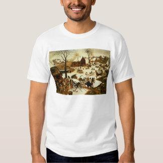 Census at Bethlehem, c.1566 T Shirts