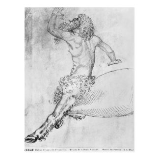 Centaur, from the The Vallardi Album Postcard