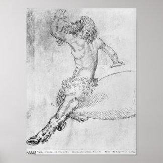 Centaur, from the The Vallardi Album Poster