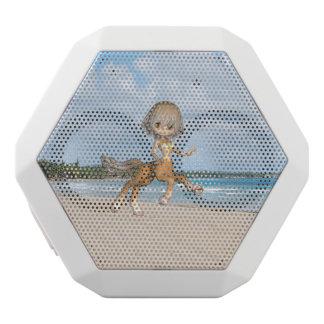 Centaur on Beach White Boombot Rex Bluetooth Speaker
