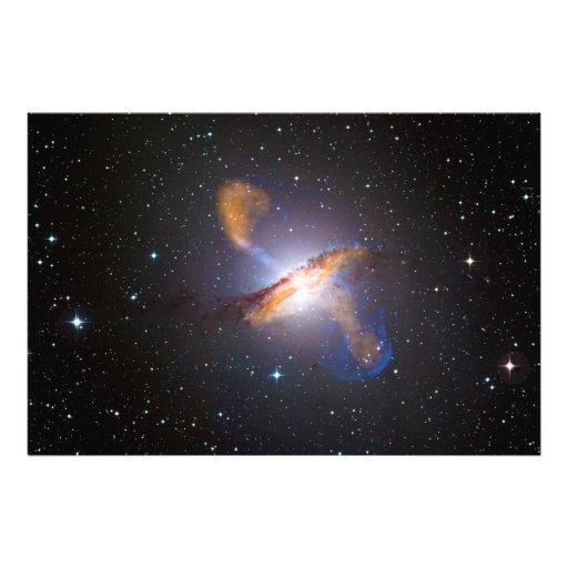 Centaurus A Shows a Supermassive Black Holes Power Photo Print