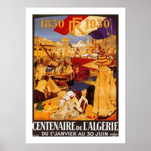 Centenaire de L'Algerie Posters