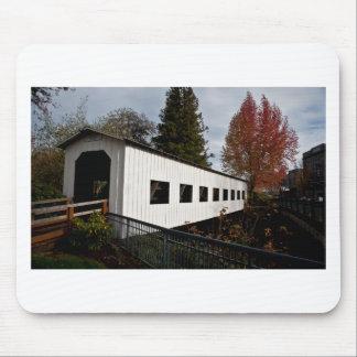 Centennial Covered Bridge, Cottage Grove, Oregon Mouse Pad