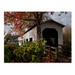 Centennial Covered Bridge, Cottage Grove, Oregon Postcard