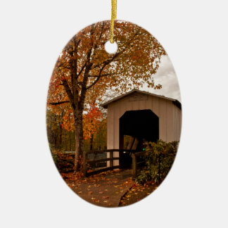 Centennial Covered Bridge, Oregon Christmas Ornament