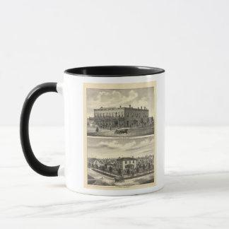 Centennial Hotel, Tecumseh, and Neb, Nebraska Mug