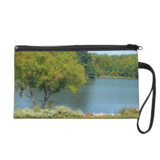 Centennial Lake in Ellicott City Maryland Wristlet
