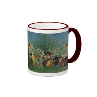 Centennial of Independence by Henri Rousseau Ringer Mug