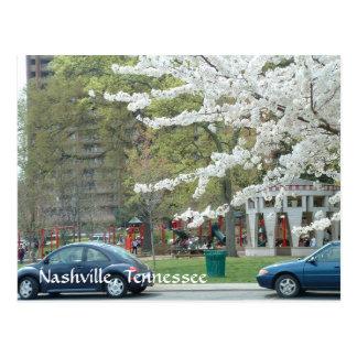 Centennial Park in Spring Post Card