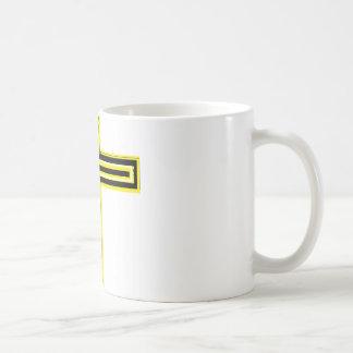 Center Cross Location Basic White Mug