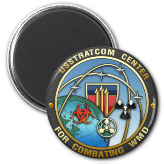 Center for Combating Weapons of Mass Destruction 6 Cm Round Magnet