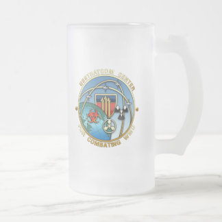 Center for Combating Weapons of Mass Destruction Frosted Glass Beer Mug
