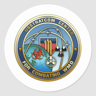 Center for Combating Weapons of Mass Destruction Round Sticker