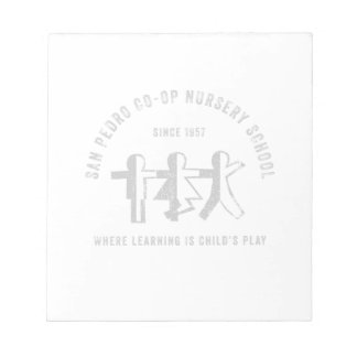 Center Logo Tear Away Notepad
