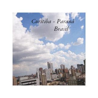 Center of Curitiba - PARAN3A - BRAZIL Canvas Print