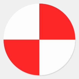 Center of Gravity Sticker