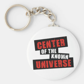 Center of the Known Universe Basic Round Button Key Ring
