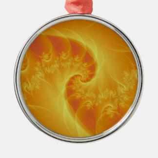 Center of the Orange Ornament