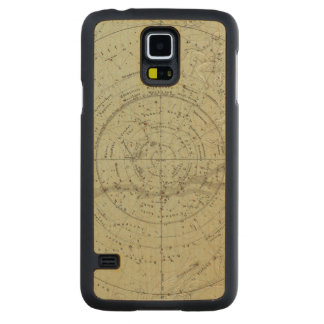 Center of the Southern Sky map Carved Maple Galaxy S5 Case