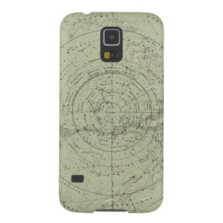 Center of the Southern Sky map Galaxy S5 Case