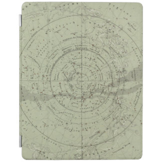 Center of the Southern Sky map iPad Cover