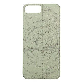 Center of the Southern Sky map iPhone 8 Plus/7 Plus Case