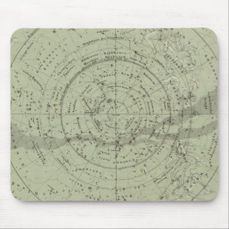 Center of the Southern Sky map Mouse Mat